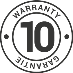 Limited 10 year warranty